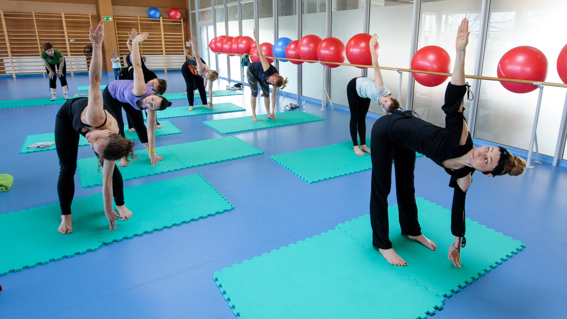 Sala fitness - pływalnia UWM