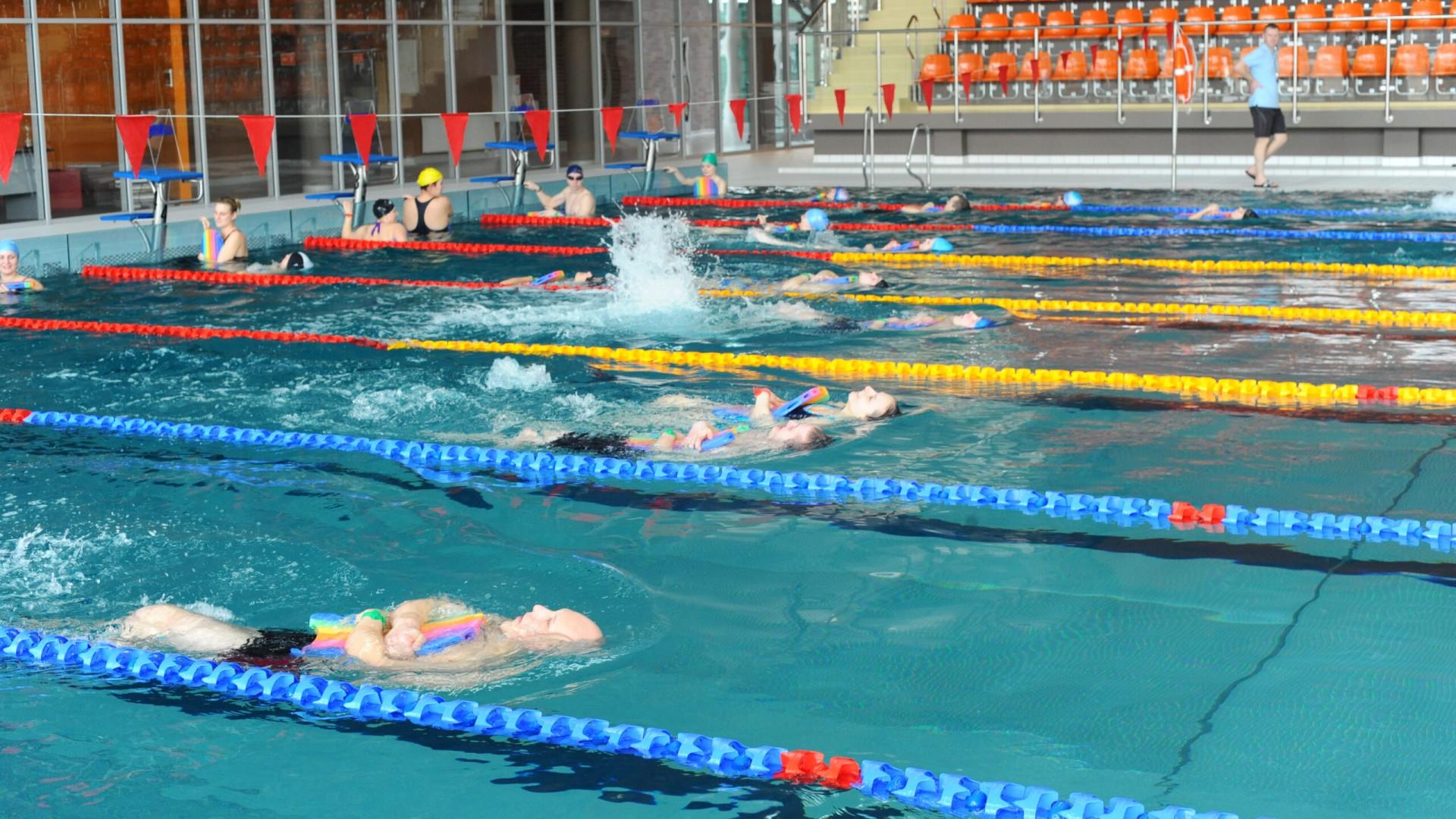 Pływalnia UWM - basen główny